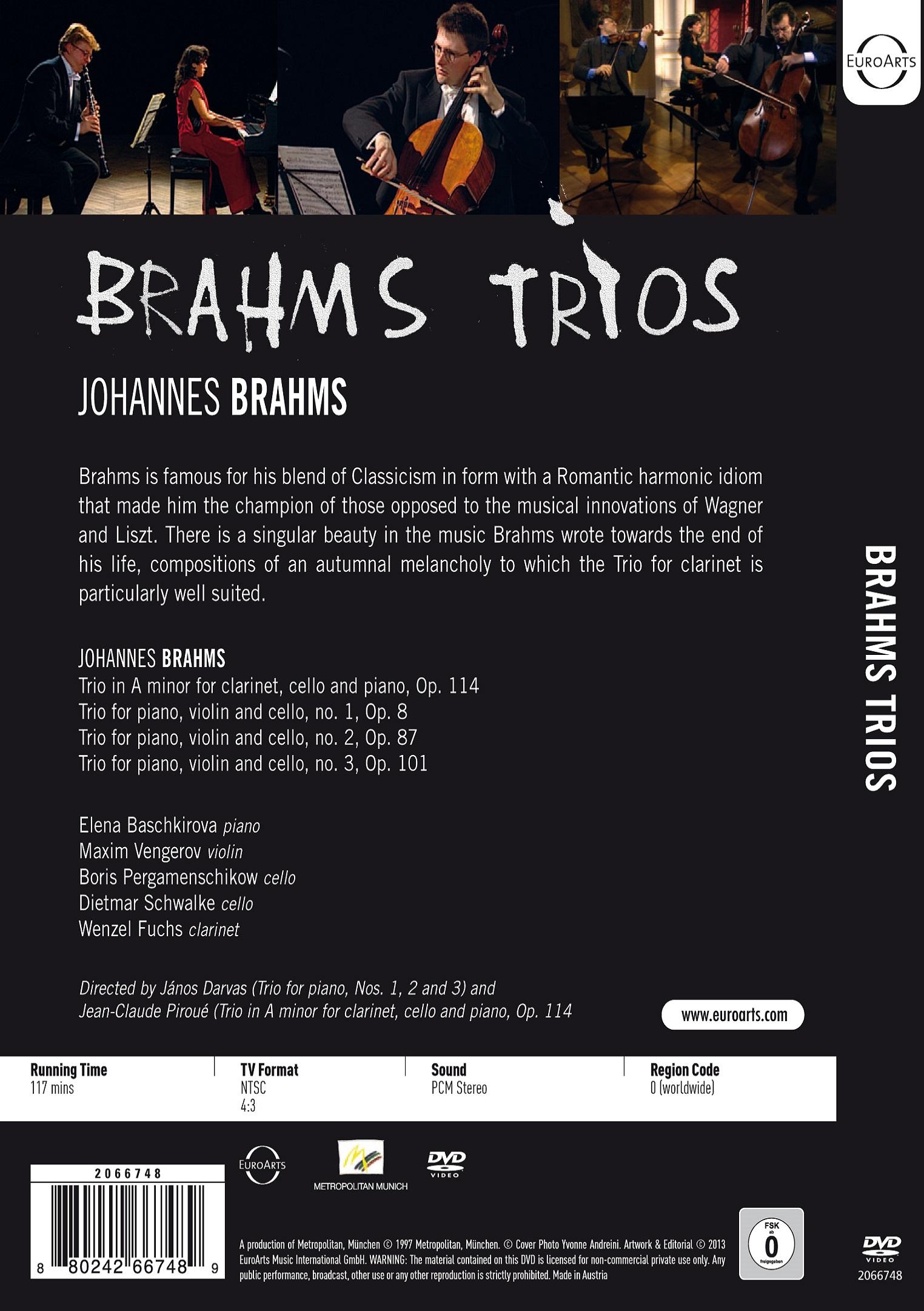 Brahms Trios - EUROARTS