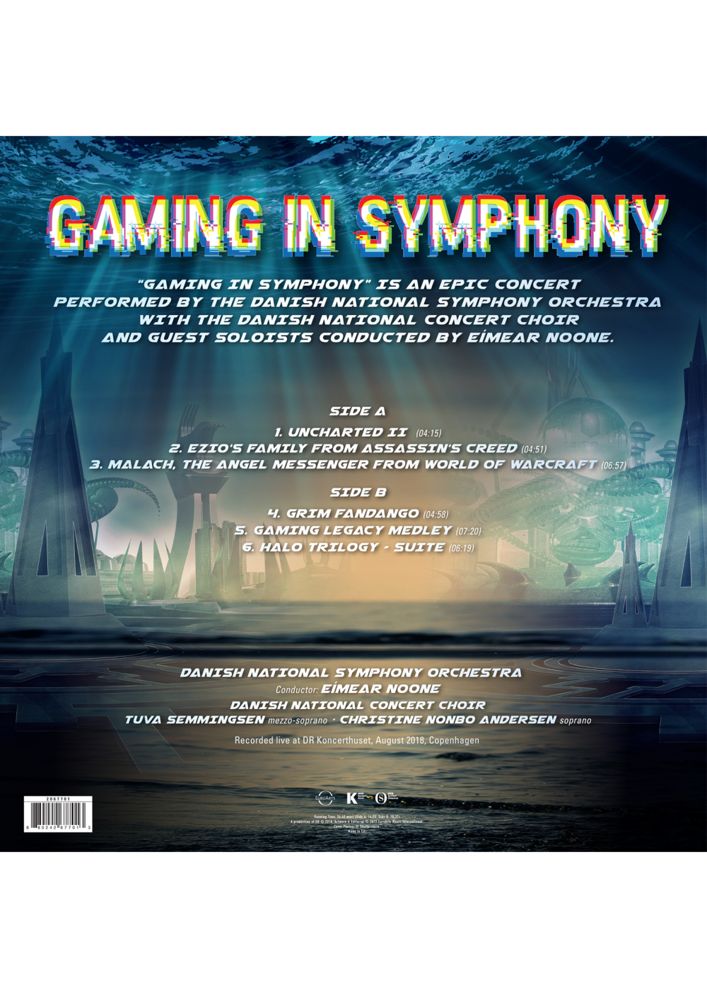 Gaming in Symphony - Danish National Symphony Orchestra - LP