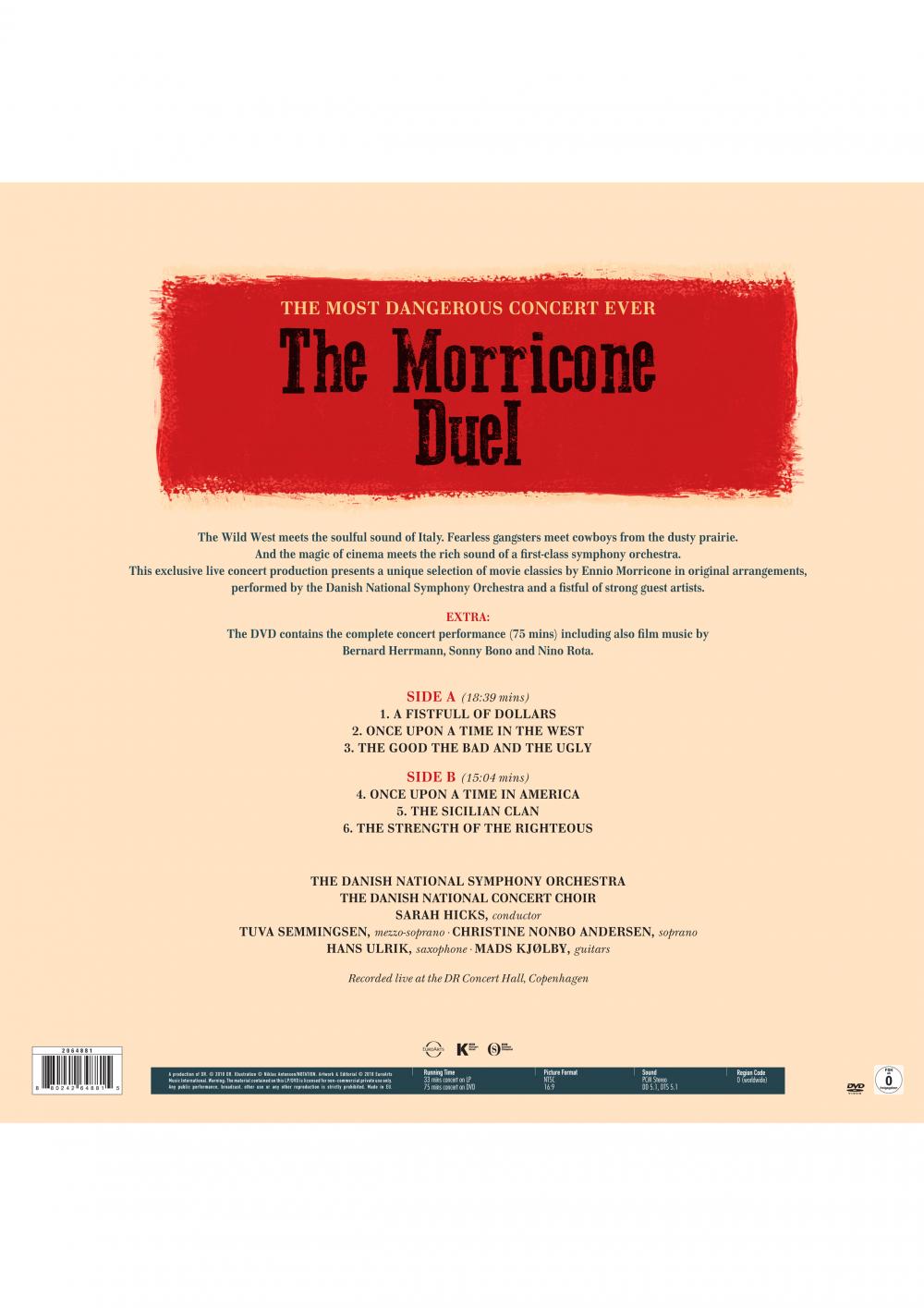 The Morricone Duel - The most dangerous concert ever Vinyl