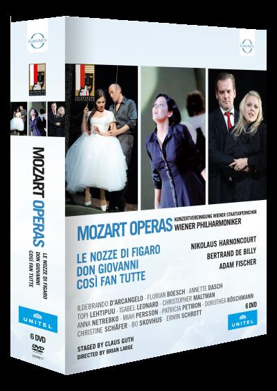 Mozart Da Ponte Operas